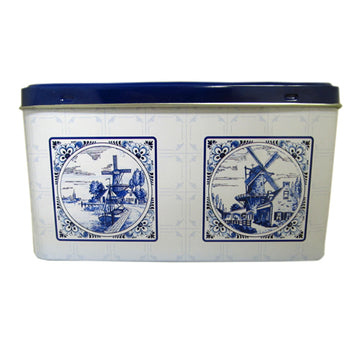 Delft Blue Speculaas Tin