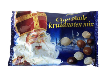 Van Delft Assorted Chocolate Spice Nuts (kruidnoten) 250 g
