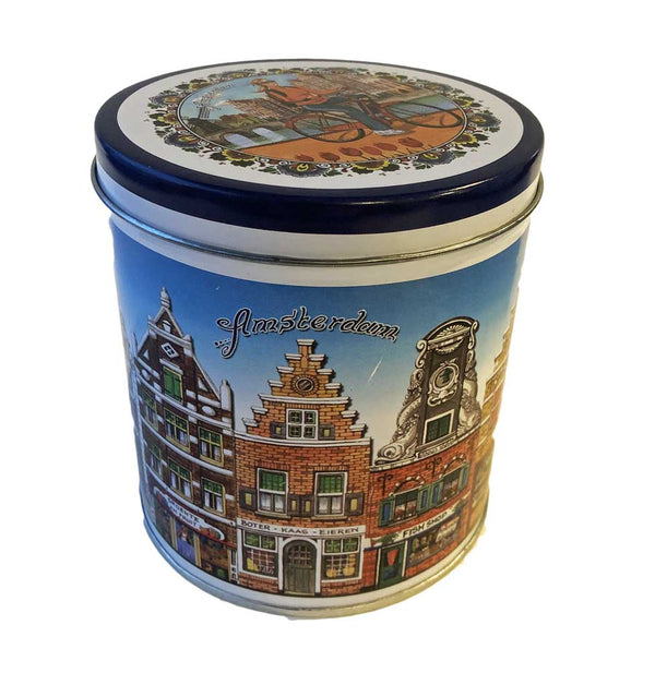 Storage Tin Colored Canal Houses - The Bake Oven