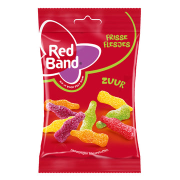 Red Band Sour Bottles 150g