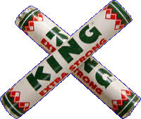 King Peppermint Extra Strong 44g