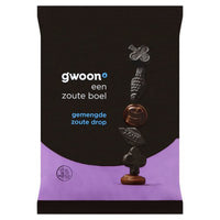 Gwoon Gemendge Salt Licorice 400g - The Bake Oven