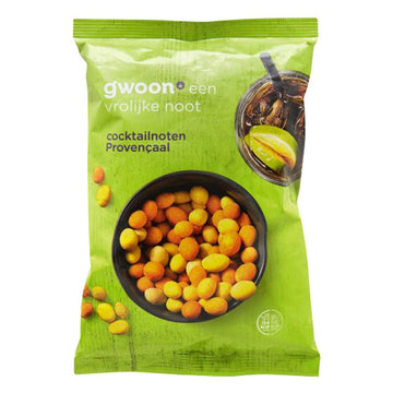 Gwoon Provencaal Borrelnootjes (breaded nuts)300g
