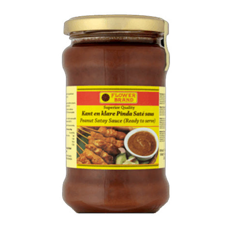 Flower Brand Ready Sate Sauce 325ml - The Bake Oven