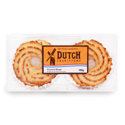 Dutch Bakery Coconut Rings 180 g