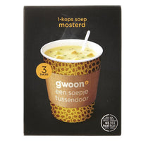 Gwoon Cup of Soup Mustard 54g - The Bake Oven
