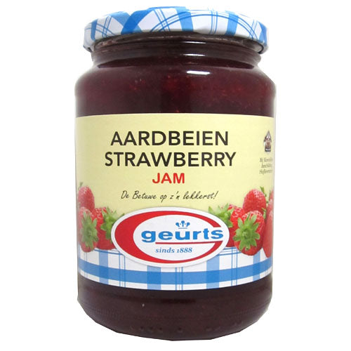 Geurts Strawberry (aardbeien) Jam 450g - The Bake Oven