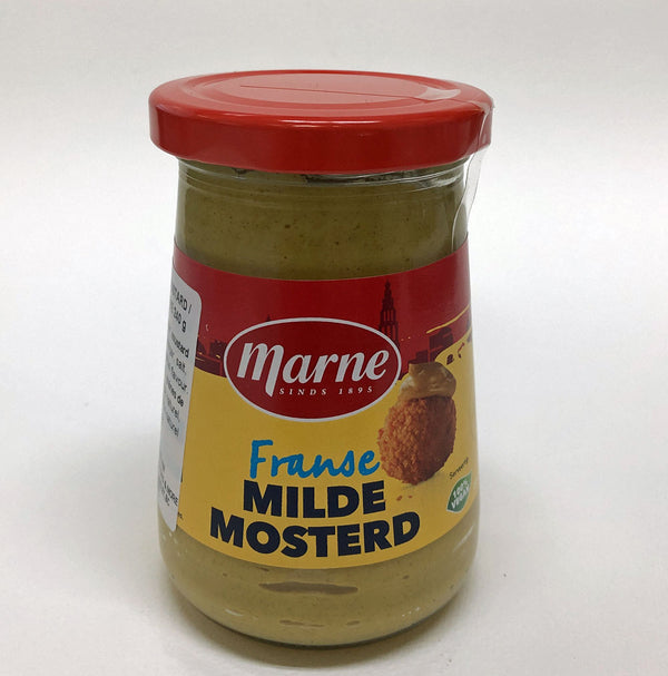 Marne Fine Mustard in Glass 240g - The Bake Oven
