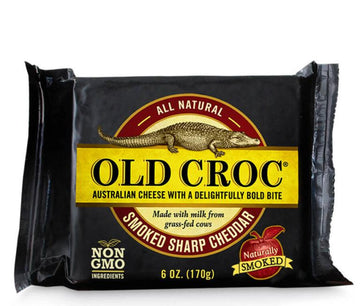 Old Crock Smoked Aged Cheddar 198g