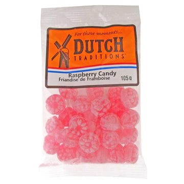Dutch Tradition Raspberry Candies 105g