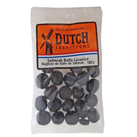 Dutch Tradition Salmiak Balls Licorice 100g - The Bake Oven