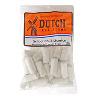 Dutch Tradition School Chalk Licorice 105g - The Bake Oven