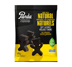 Panda All Natural Licorice Bears 125g
