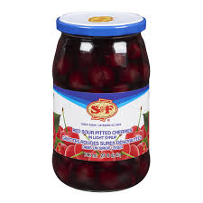 S&F Sour Pitted Cherries 796ml