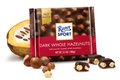 Ritter Sport Dark Whole Nuts Chocolate 100g