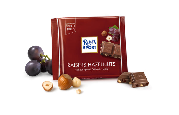 Ritter Sport Raisin Nut Chocolate100g - The Bake Oven