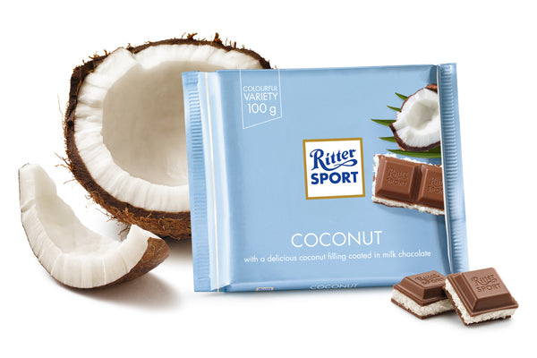 Ritter Sport Coconut Chocolate 100g - The Bake Oven