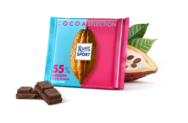 Ritter Sport 55% Dark Smooth 100g - The Bake Oven