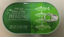 Trader Joe's Smoked Herring 190g