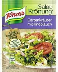 Knorr Salat Kronung Knoblauch (Garlic) Art 5pk 40g - The Bake Oven