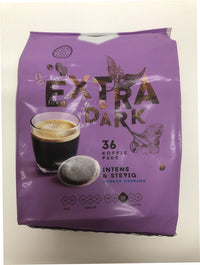 Jumbo Extra Dark Coffee Pads 36pce 252g - The Bake Oven
