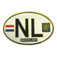 NL Sticker Oval White