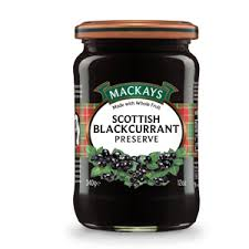 Mackays Black Currant Preserve 340g