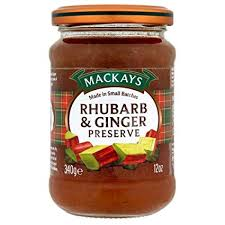 Mackays Spiced Ginger Preserve 340g