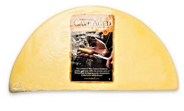 Wookey Hollow Cave Aged Cheddar - The Bake Oven