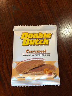Double Dutch Caramel Wafers 30g