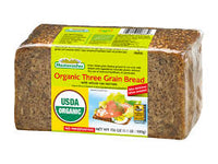 Mestemacher Organic 3 Grain Bread 500g - The Bake Oven