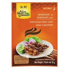 Asian Home Gourmet Indonesian Satay 50g