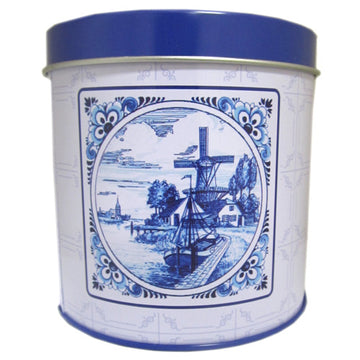 Delft Blue Syrup Wafer Tin