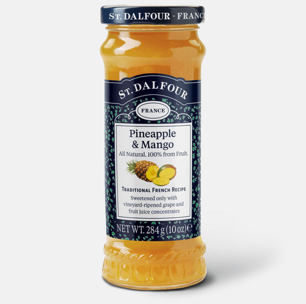 St. Dalfour Pinapple Mango Jam 225 ml - The Bake Oven