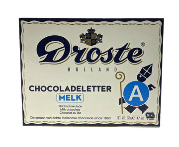Droste Milk Chocolate Letters 135 g