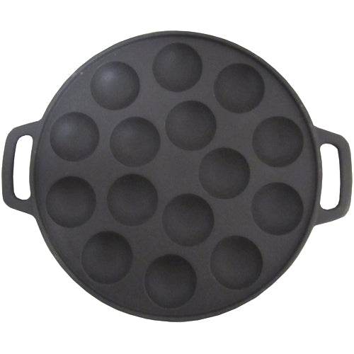 Poffertjes Cast Iron Frying Pan - The Bake Oven