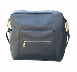 Warehouse sale- Black flawed bag