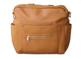 Kiki Lu Diaper bag in Camel Brown