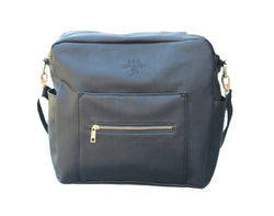 Kiki Lu Diaper Bag in Black- restocking June/July