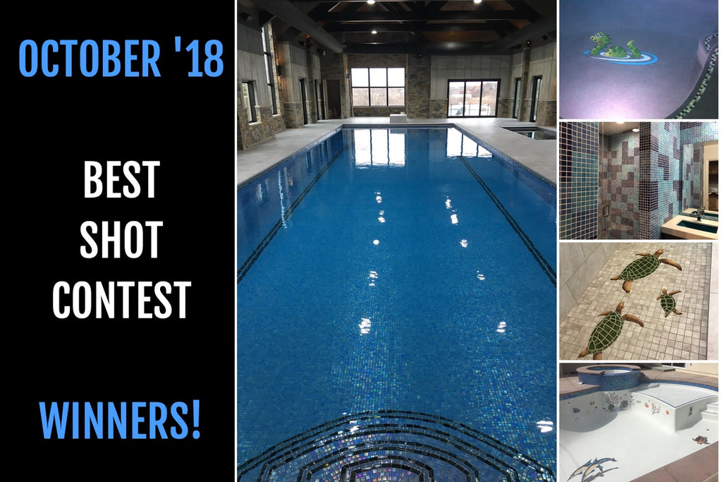PRESS RELEASE: Glass Tile Pool Takes First Place $500 Reward in Photo Competition