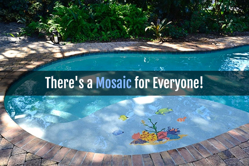 There\'s a Mosaic Pool Tile for Everyone!