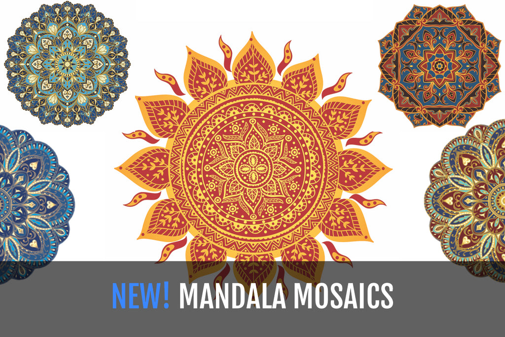NEW MANDALA SERIES POOL MOSAICS GO BEYOND MERE BEAUTY