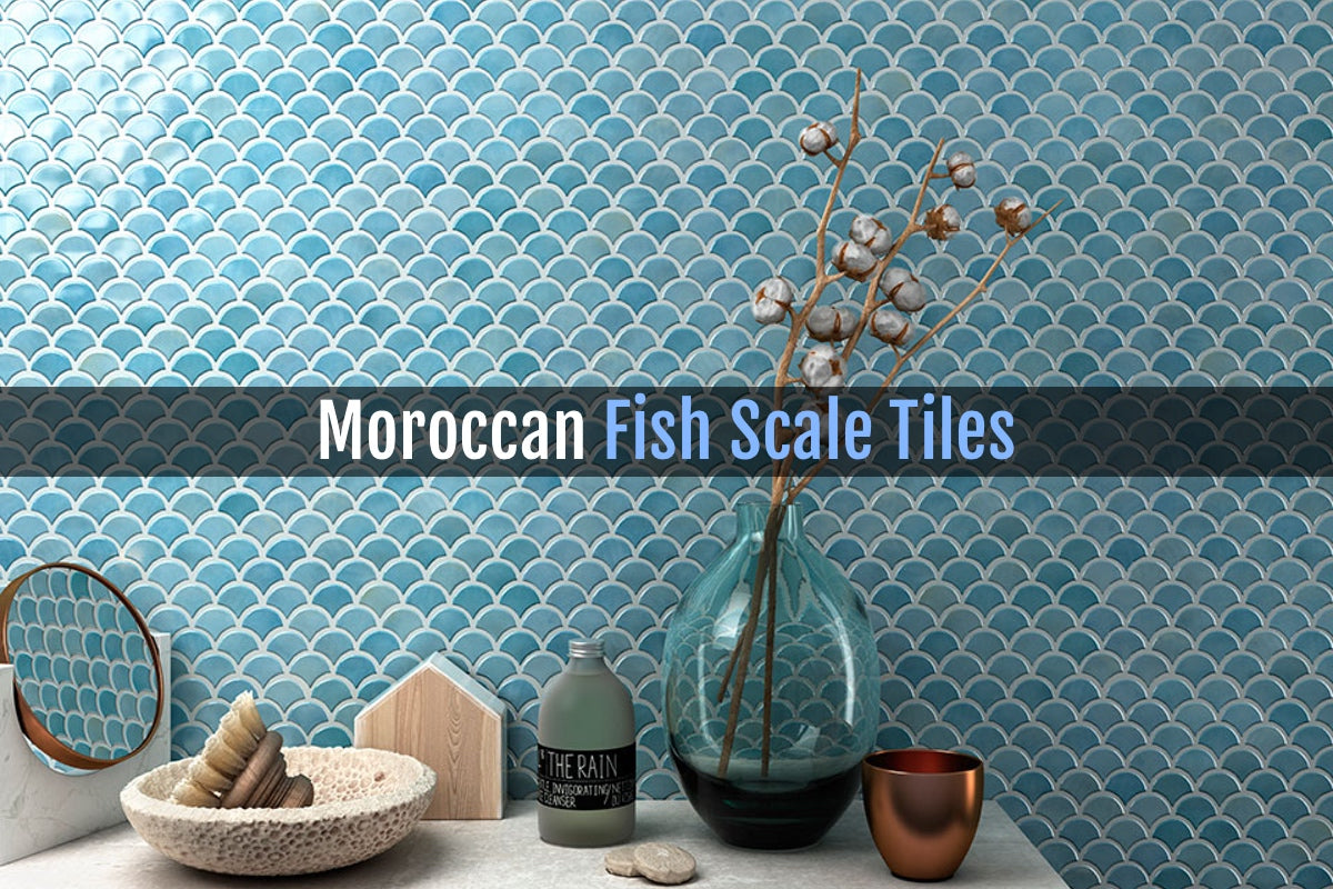Moroccan Fish Scale Tiles We Ve Got Them And So Should You Aquablu Mosaics