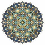 MND-CBM-11 cosmic bliss mandala series pool mosaics from custom mosaics