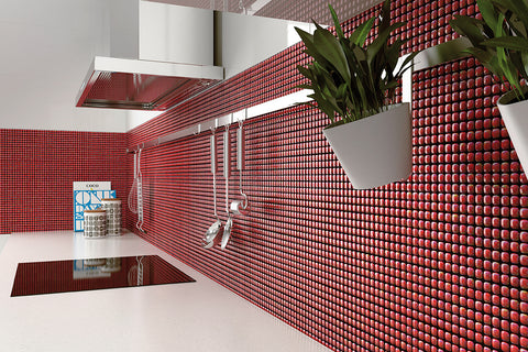 Top 5 Glass Mosaic Tile Applications For Your Home Aquablu Mosaics