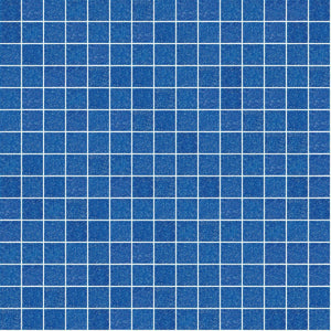 "Blue, 3/4"" x 3/4"" - Glass Tile"
