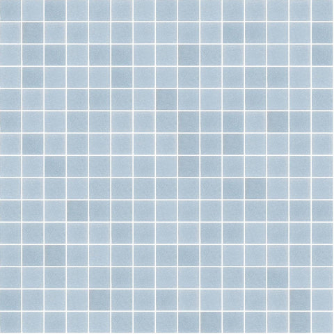 "Light Steel Blue, 3/4"" x 3/4"" - Glass Tile"