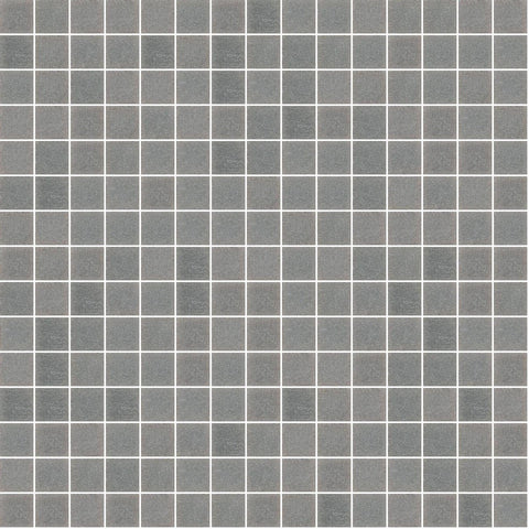 "Gray, 3/4"" x 3/4"" - Glass Tile"