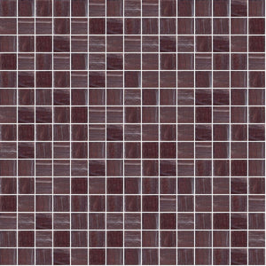 "Mulberry, 3/4"" x 3/4"" - Glass Tile"