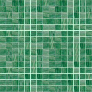 "Forest, 3/4"" x 3/4"" - Glass Tile"